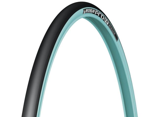 """Michelin Pro4 V2 Cykeldæk 28"""" blå"""
